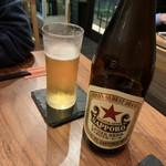 九龍飲茶酒楼 - 晩酌セットのビール