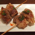 MA MAISON - ハンガリーの食べる国宝…マンガリー豚の串焼きです。