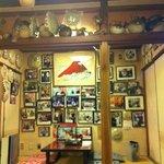 巣鴨三浦屋 - 芸能人の写真がいっぱい