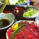 巣鴨三浦屋 - すっぽんのしゃぶしゃぶとお野菜