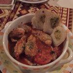 多国籍料理 麦風亭 - 鶏肉のトマト煮