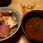 106551416 - ラムつけ麺(全部乗せ)