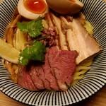 106551421 - ラムつけ麺(全部乗せ)