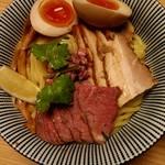 106551427 - ラムつけ麺(全部乗せ)
