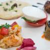 エリオ・ロカンダ・イタリアーナ - 料理写真:海老と野菜、スペルト小麦のカクテル