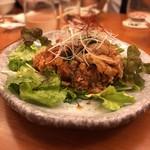 GOCHISO-DINING 雅じゃぽ - 雛鳥の竜田揚げ 飛騨山椒の香味ソース掛け