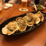 GOCHISO-DINING 雅じゃぽ - 広島産 牡蠣の香草パン粉バター焼き
