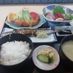 みやこ家 - おまかせ定食(1100円)