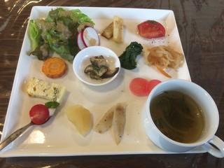 たくみカフェ - 前菜