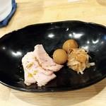 福島壱麺 - アテ盛り小