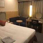 106562969 - アップグレードしていただいたお部屋。  一応ソファーがある。 JAL CITYなのでこんな感じですね。