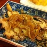 鮨金 - 酢鶏、ポン酒に合う