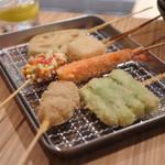 くし菜 - 串揚げ