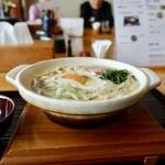 うどん茶屋 海津屋 - [2019/03]鍋焼きうどん(850円)