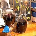 ビストロ ブルー - 赤ワイン&カラフェ