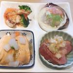 さくら亭 - 料理写真:前菜(4種盛り)