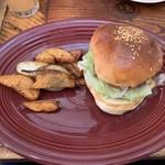 ペペキッチン - プレーンのハンバーガー