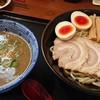 与七 - 料理写真:つけ麺並+味タマ♪