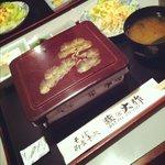 大作 - 料理写真:うな重¥1250