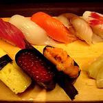居酒屋 凱鮮 - お寿司8貫セット(1100円)
