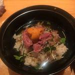 肉と京料理 かぐら - 茶漬け