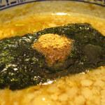 三田製麺所 - 背脂つけ麺 中