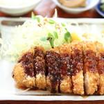 とんかつ大和 - 料理写真:とんかつ定食。