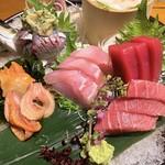 板前寿司 - 刺身盛り合わせ