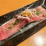 板前寿司 - うにタン アップ