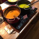 YY grill - 料理写真:カレー2種