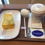 ヴィ・ド・フランス - Aセット クロックムッシュモーニング ¥390(税込)