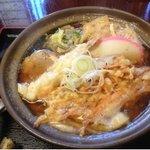 好浩 - 鍋焼きうどん600円。