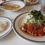 洋食堂コロンバ - ポーク生姜焼き