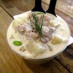 Potato Cream - かぶと鶏肉のゴルゴンゾーラポテトクリーム!