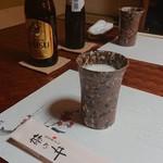 関東風うなぎ 梅乃井 - ドリンク写真:エビスとKIRINオールフリー