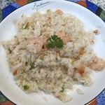 木かげ - 料理写真:ピラフランチの海老ピラフ