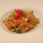 Paradaisudainashithi - くらげの冷菜