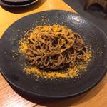 鉄板酒場 犇屋 - からすみ蕎麦