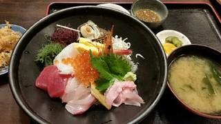 海鮮料理 天海 - 海鮮丼セット@1990