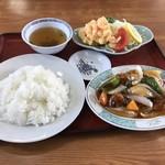 中国飯店紀淡 - 海老天定食