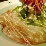 サラマンジェ - 鯛のカルパッチョ