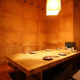 【空間】4~50名までご利用いただける掘りごたつの完全個室!