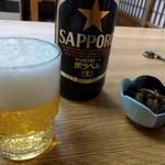 日野出食堂 - ドリンク写真:瓶ビール~☆