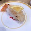 かっぱ寿司 - 料理写真:赤エビ塩直火炙り