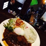 cafe 泉 - ハンバーグプレート 850円