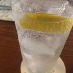 106608148 - 名代レモンサワー これが一番爽やかでクリアな味わい