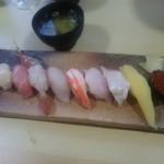 北の味心竹ちゃん - 極上寿司 3,000円
