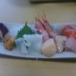 北の味心竹ちゃん - 地魚刺身盛り合わせ 1,800円