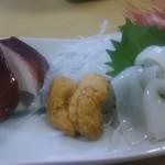 北の味心竹ちゃん - 地魚刺身アップ