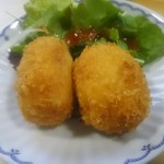 北の味心竹ちゃん - カニクリームコロッケ 600円